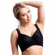 Active Black Nursing Bra